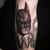 Batman In Bruce Wayne Suit