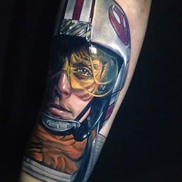 Luke Skywalker Dan Mawdsley